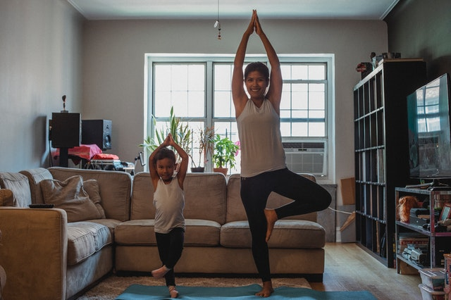 Exercise makes your child physically strong
